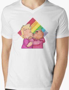Bear Pride Mens V-Neck T-Shirt