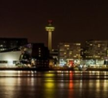 Liverpool at Night by Jack Steel