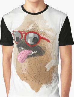 Pug Swagger Graphic T-Shirt