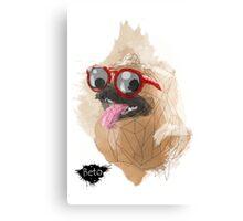 Pug Swagger Canvas Print