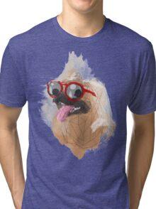 Pug Swagger Tri-blend T-Shirt