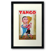 Tango por Diego Manuel Framed Print