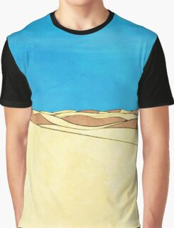 Cartoon sand dunes Graphic T-Shirt