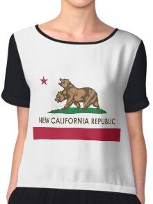Fallout - New California Republic Flag Chiffon Top