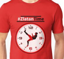#ZlatanTime - Its Zlatan Ibrahimovic Time at Man Utd Unisex T-Shirt