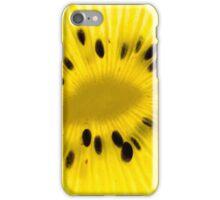 Golden kiwi iPhone Case/Skin