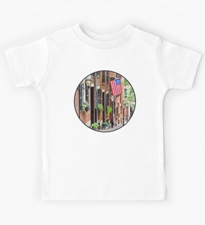 Boston MA - Acorn Street Kids Tee