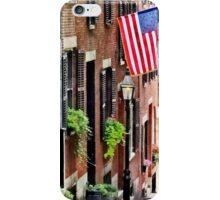 Boston MA - Acorn Street iPhone Case/Skin