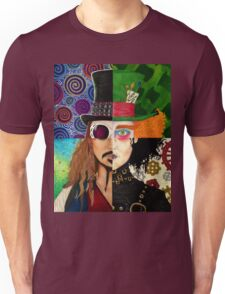 Johnny Depp Character Collage Unisex T-Shirt