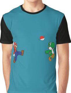 Pokemon Bross Graphic T-Shirt