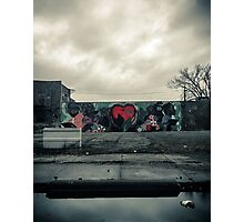 Graffiti Heart  Photographic Print