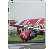 Air Asia airplane iPad Case/Skin