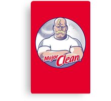 Major Clean Canvas Print
