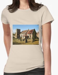 Loxley Church Warwickshire England Womens Fitted T-Shirt