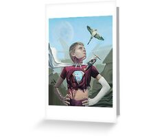 Automaton Greeting Card