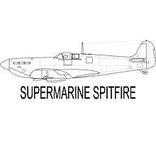 Supermarine Spitfire Photographic Print