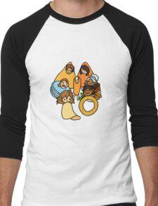 Voltron Snack Mix Men's Baseball ¾ T-Shirt