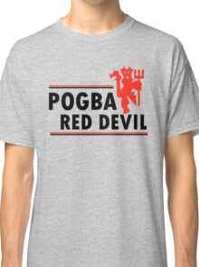 Paul Pogba - Red Devil Classic T-Shirt