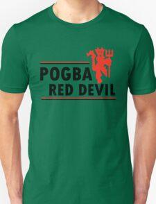 Paul Pogba - Red Devil Unisex T-Shirt