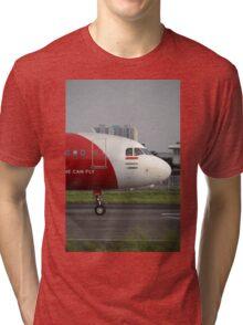 Air Asia airplane Tri-blend T-Shirt