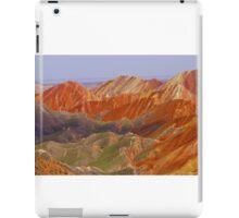 the colour mountain iPad Case/Skin