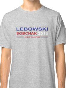 Lebowski Sobchak 2016 Classic T-Shirt