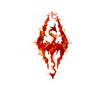 Fus ro dah - Fire Photographic Print