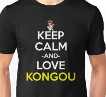 Keep Calm And Love Kongou Anime Manga Shirt Unisex T-Shirt