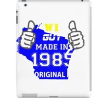 This Wisconsin Guy Made in 1985 iPad Case/Skin