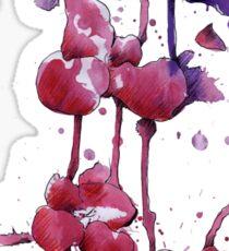 Dripping Orchids Sticker