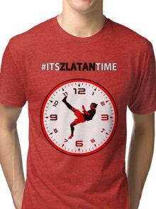 #ItsZlatanTime - Its Zlatan Ibrahimovic Time at Man Utd Tri-blend T-Shirt