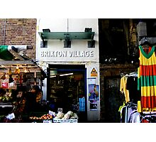 Brixton Village Entrance Photographic Print