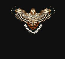 Beadwork Red-Tail Hawk Unisex T-Shirt
