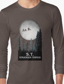 Stranger Things Long Sleeve T-Shirt