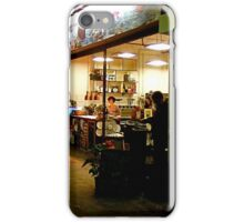 Restaurant at Night iPhone Case/Skin