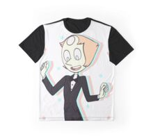 Pearl Steven Universe Mr. Greg with Stars Graphic T-Shirt