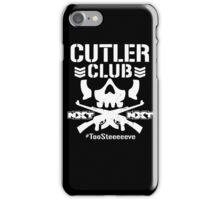 "Steve Cutler ""Cutler Club"" iPhone Case/Skin"