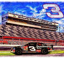 "Dale Earnhardt Sr. ""The Intimidator"" by SteelCityArtist"