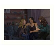 Root and Shaw with Gen Art Print