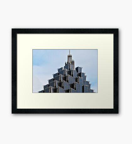 Coporate Ladder Framed Print