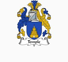 Temple Coat of Arms / Temple Family Crest Unisex T-Shirt
