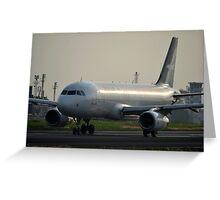 Silk Air airplane Greeting Card