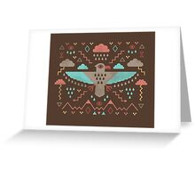 The Legend of Thunderbird Greeting Card