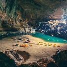 Hang En cave camp by Chris  Staring