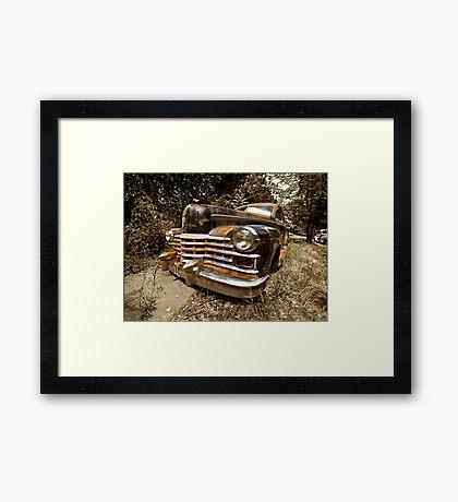 1948 Cadillac Limo Framed Print