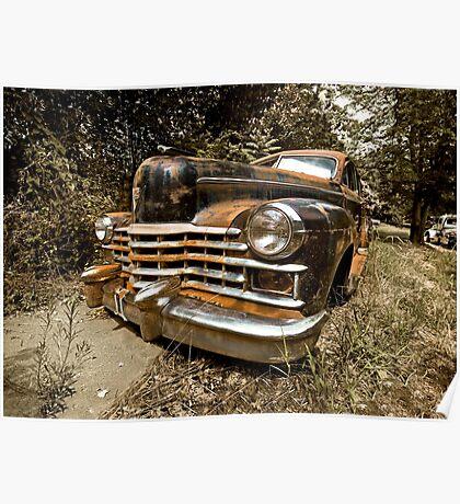 1948 Cadillac Limo Poster