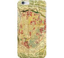 Vintage Map of Vienna Austria (1710) iPhone Case/Skin