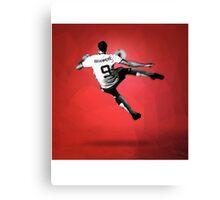 Zlatan Ibrahimovic Bicycle Kick (T-shirt, Phone Case & more) Canvas Print