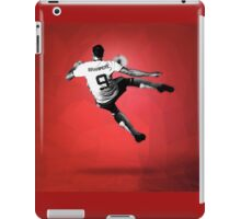 Zlatan Ibrahimovic Bicycle Kick (T-shirt, Phone Case & more) iPad Case/Skin