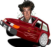 Jeremy Clarkson's Robin Reliant by car2oonz